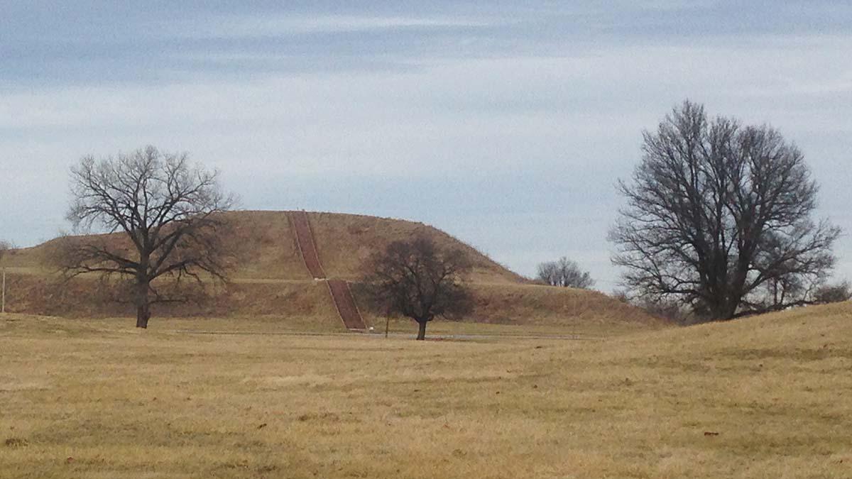 Monk's Mound at Cahokia