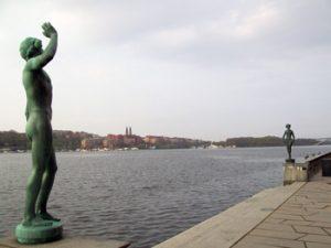 Carl Eldh statues Stockholm
