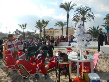 Christmas celebration in Spain
