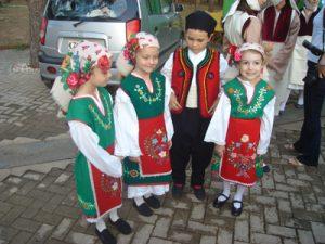 Evros Greece Christmas celebration