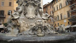 Piazza della Rotunda fountain