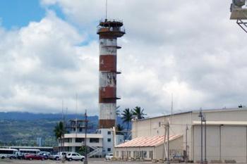 Airport tower, Honolulu