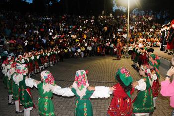 Greek dancing in Evros