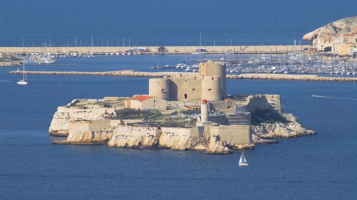 Chateau d'If and Marseille