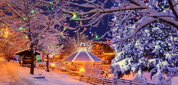 Leavenworth Washington in winter