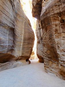 Opening in the Siq