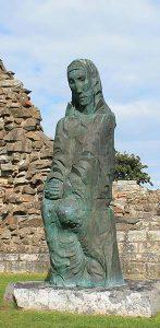 Saint Cuthbert statue