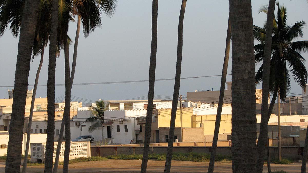 Al Haffa area in Salalah, Oman