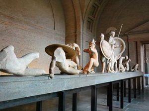 sculptures found at site