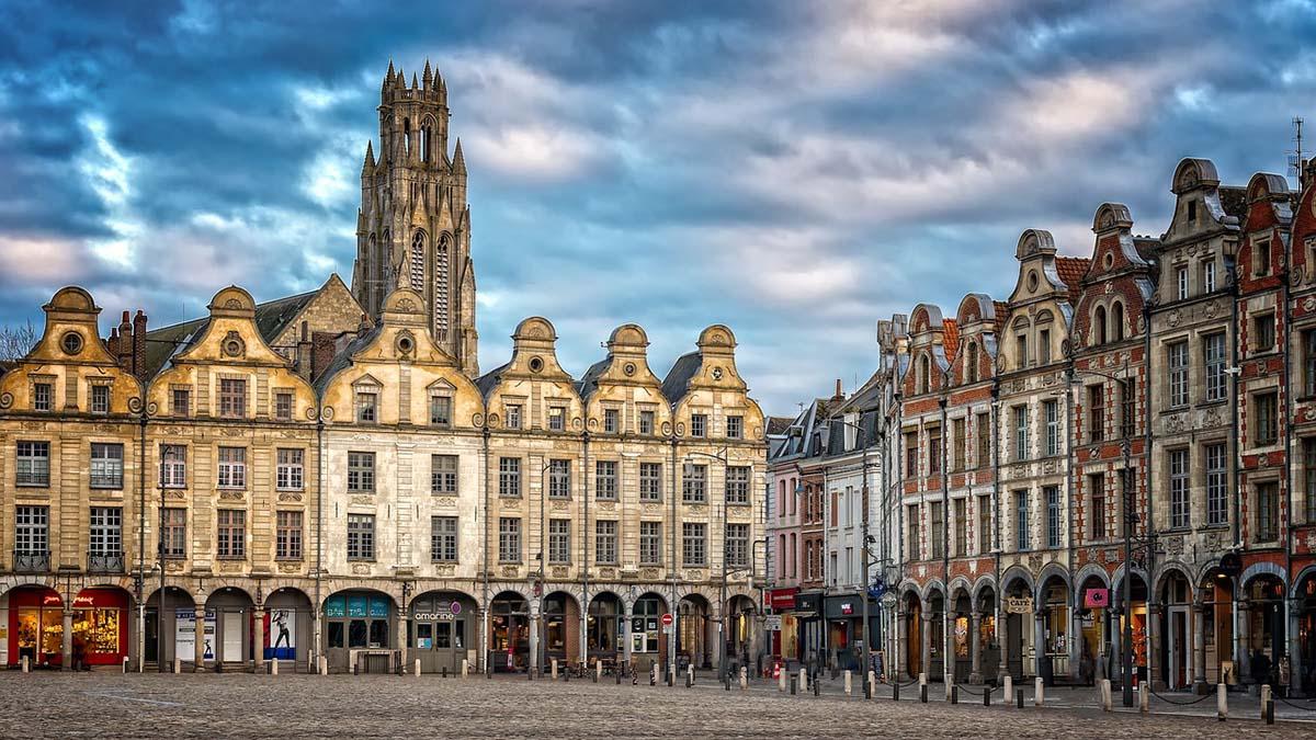 Arras, France buildings