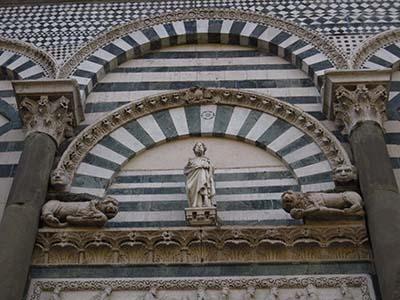 Saint Andrea church detail