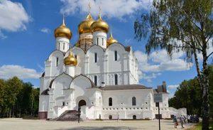 church of dormition yaroslavl
