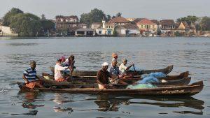boatmen in Cochin