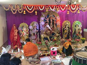 A Durga Puja in New York