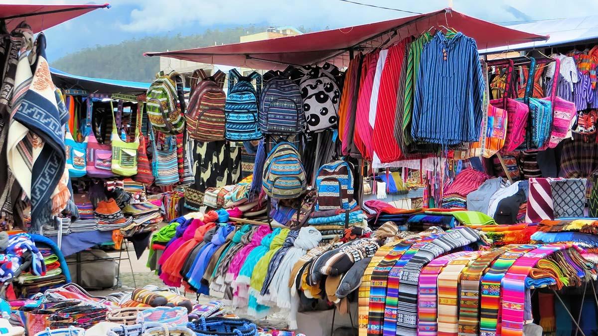 Textiles in Ecuador