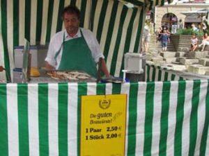 bratwurst stall