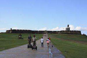 Esplanade in front of El Morro
