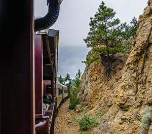 on steam railway