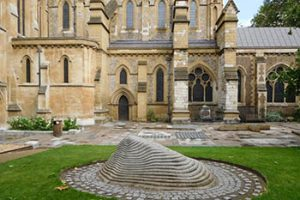 Millenium Courtyard of Southwark Cathedral