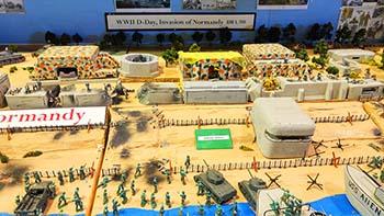 Mormandy battle model