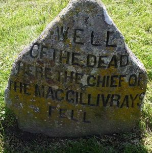 Culloden well of the dead