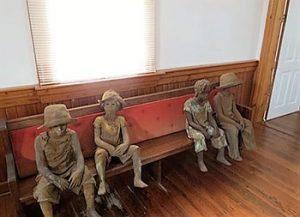 Woodrow Nash sculptures
