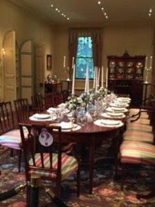 Winterthur dining room
