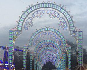Xmas lights in Hyde Park