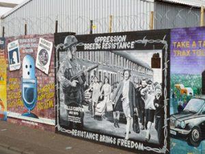 Troubles mural, Belfast