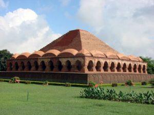 Bishnupur terracotta temple