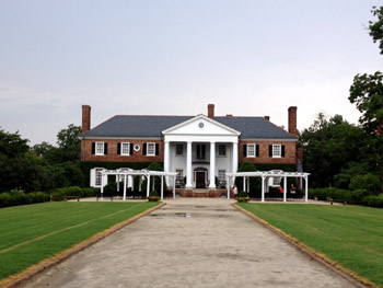Boon Hall Plantation house