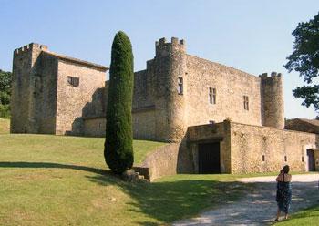 Chateau de Boussargues exterior