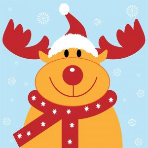 Xmas reindeer