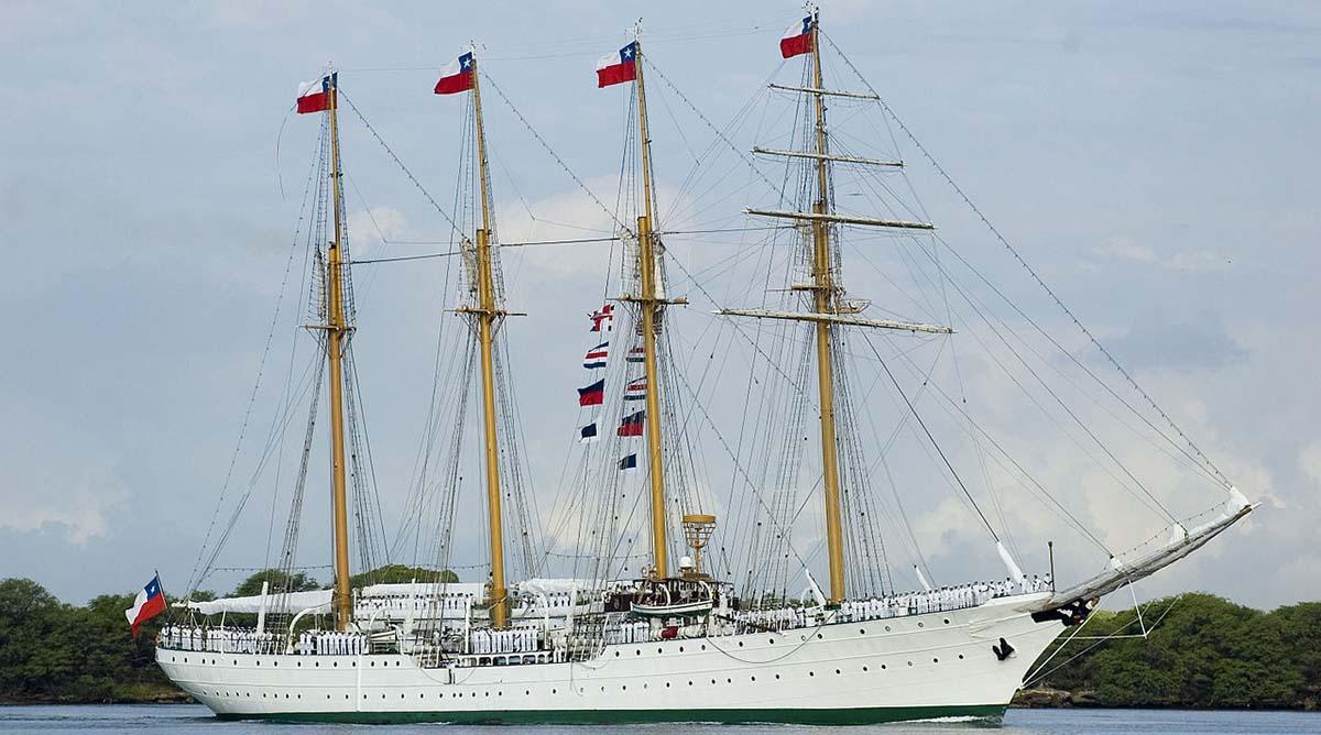 Chilean sailing ship Esmeralda