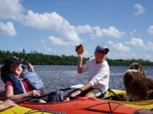 Kayaks in Florida keys