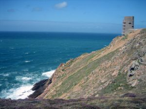 German observation tower on Jersey