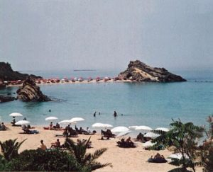 beach on Kefalonia