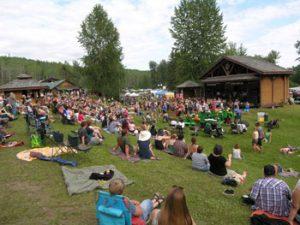main state Kispiox music festival
