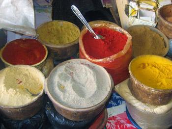 spice market, Morocco