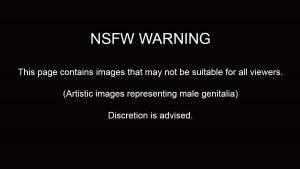 Adult material warning