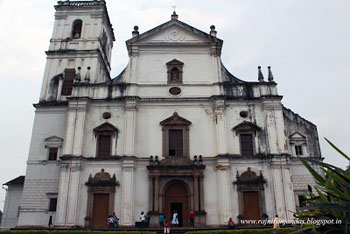 Santa Catarina cathedral, Goa