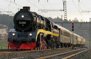 Orient Express railway engine