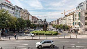 SWenceslas Square Prague