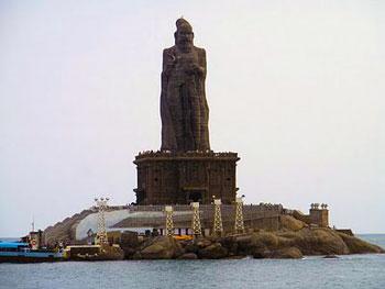 statue of Thiruvalluvar