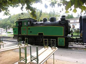 steam railway train