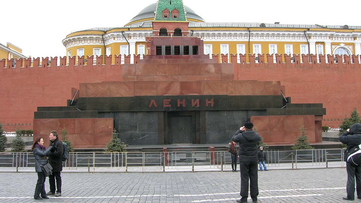 Lenin's tome Moscow