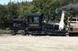 Mount Washington steam engine