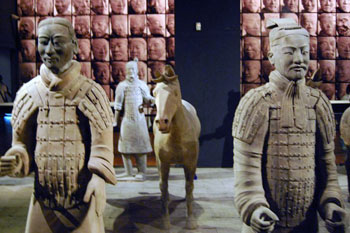 terracotta soldiers