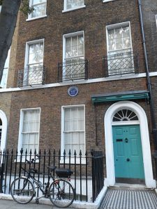 Dickens' London House on Doughty St.