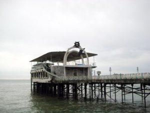 Restaurant Amra on Sukhumi waterfront